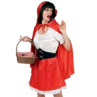 Little Red Riding Hood Deluxe Adult Halloween Costume Size