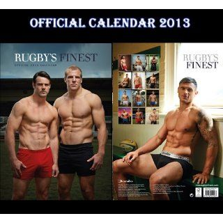 RUGBYS FINEST HUNKS OFFICIAL CALENDAR 2013 + FREE RUGBYS