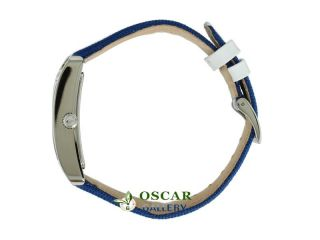 2000693 Blue Grosgrain Strap Womens Watch New 2 Years Warranty