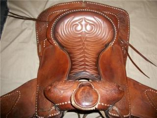 Hereford Brand Tex Tan of Yoakum Western Saddle 17 Gen BAL Ride Plus