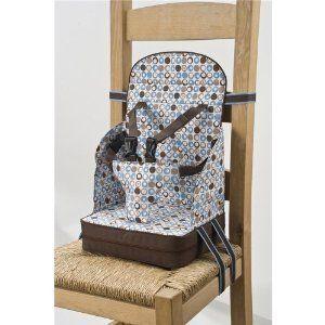Polar Go Anywhere Travel Booster Seat Portable High Chair Blue