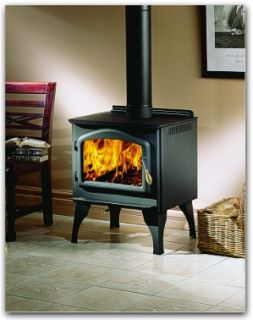 Napoleon 1400PL Wood Burning Stove with Door, Legs & Ash Pan