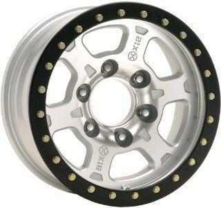 American Racing ATX Chamber Pro 17x8.5 Silver Wheel / Rim 6x6.5 with a
