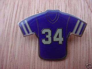 Herschel Walker 34 Dallas Cowboys NFL Jersey Pins
