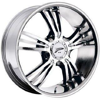Platinum Wolverine 17x8 Chrome Wheel / Rim 5x4.5 & 5x120 with a 10mm