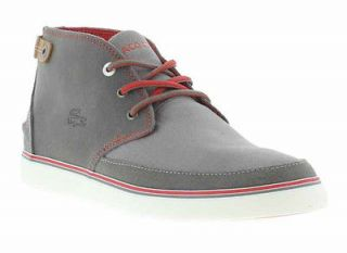 Lacoste Boots Genuine Clavel AP 6 Mens Grey Casual Boot Sizes UK 8