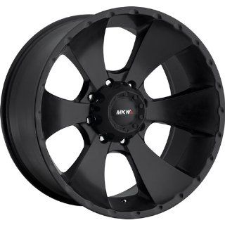 MKW Offroad M19 18 Black Wheel / Rim 6x5.5 with a 10mm Offset and a