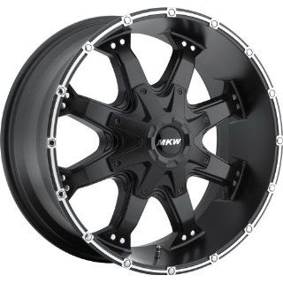 MKW Offroad M83 17 Black Wheel / Rim 5x4.5 & 5x5 with a  10mm Offset
