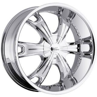 Milanni Stellar 24 Chrome Wheel / Rim 5x4.5 & 5x4.75 with a 15mm