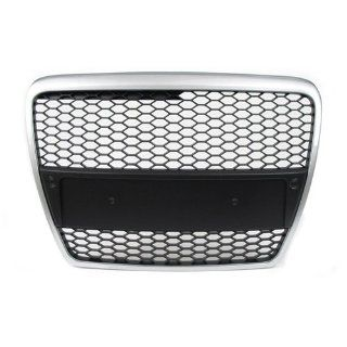 05 10 Audi A6 C6 Front Mesh RS Style Grille Grill