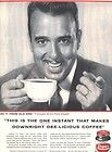 1956 CHASE SANBORN Coffee Magazine Ad ART LINKLETTER