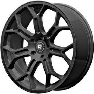 Motegi MR120 18x9.5 Black Wheel / Rim 5x120 with a 32mm Offset and a