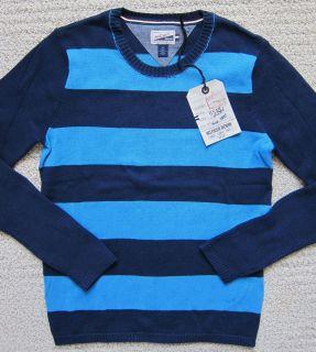 Tommy Hilfiger Navy Blue Premium Slim Fit Sweater Mens $85