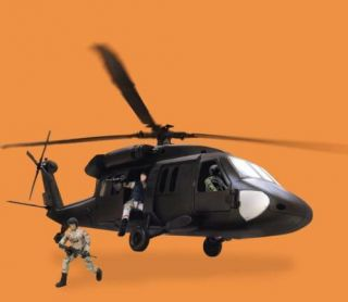 World Peacekeepers Black Hawk Helicopter Playset