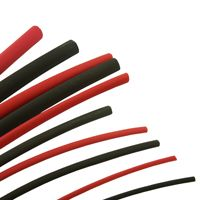 Heatshrink Tubing Red Black 6 Metre Pack Sleeving Kit