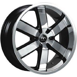 Motiv Magnum 20x9 Chrome Black Wheel / Rim 6x135 with a 30mm Offset
