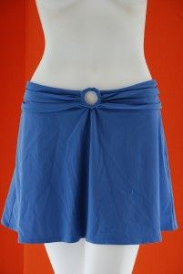 Karla Colletto Skirt Rings Skirt Cover Up Large Blue