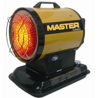 Master 70000 BTU Kerosene Radiant Heater MH 70 SS