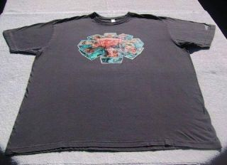 RED HOT CHILI PEPPERS retro 83 84 tour XL T SHIRT hillel slovack