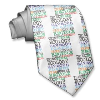 Think Green Ecology Products & Designs! Custom Tie
