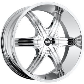 Avenue A606 22 Chrome Wheel / Rim 5x110 & 5x115 with a 40mm Offset and