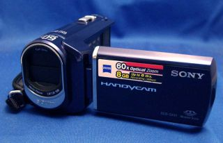 Sony Handycam DCR SX41 L Blue 8GB Digital Camcorder New