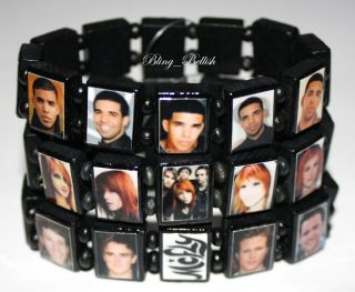 Drake McFly Paramore Hayley Williams Mikey Way Alex Gaskarth Bracelets