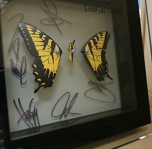Paramore Brand New Eyes out of print shadow box 250 HAYLEY WILLIAMS