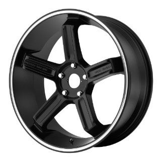 Motegi MR122 18x8 Black Wheel / Rim 5x4.5 with a 35mm Offset and a 72