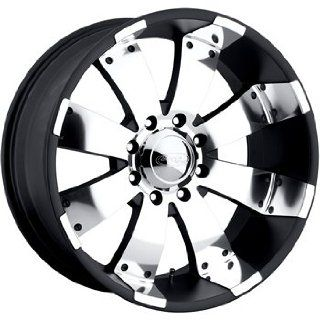 American Eagle 64 20 Black Wheel / Rim 5x5.5 with a  21mm Offset and a