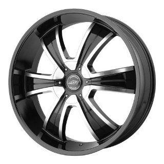 American Racing AR894 18x8 Black Wheel / Rim 6x135 & 6x5.5 with a 15mm