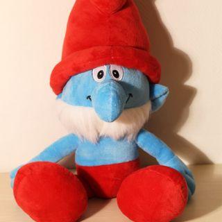 The Smurfs Movie 16 Smurfs Stuffed Plush Doll Toy Papa Smurf