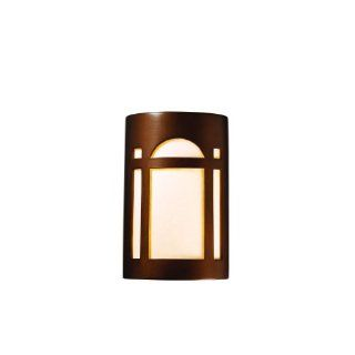 Justice Design Group Ambiance Antique Gold Small Arch