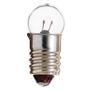 Sealed Beam G6 Candl Screw Bulb model number E509K SAT