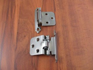 Black Nickel Cabinet Hinge Self Closing Overlay