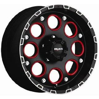 Ballistic Enigma 17x9 Black Wheel / Rim 6x5.5 with a 0mm Offset and a