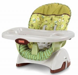 Fisher Price Space Saver High Chair Booster Scatterbug