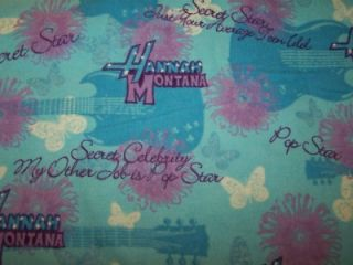 Hannah Montana Miley Cyrus Throw Blanket Personalize