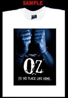 Oz Custom T Shirt Tee Prison Show HBO Oswald TV 1843