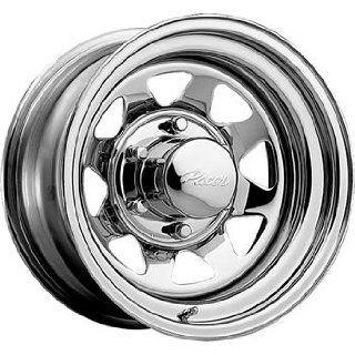 Pacer Chrome Spoke 13x5.5 Chrome Wheel / Rim 5x4.5 with a 0mm Offset