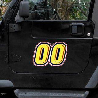 Reutimann 12 Driver Number & Name Car Magnet