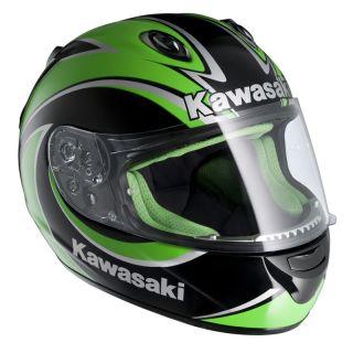 HJC Kawasaki Ninja ZX R Motorcycle Road Helmet Green XL