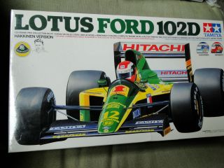 TAMIYA LOTUS FORD 102D HAKKINEN Version Model Kit 1 20 Scale NIB