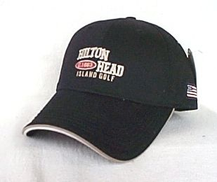 Hilton Head Island Golf Baseball Hat Ball Cap OURAY