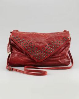 Frye Brooke Studded Envelope Clutch Bag