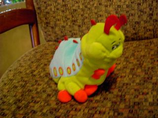 Disney Bugs life caterpillar heimlich plush bean