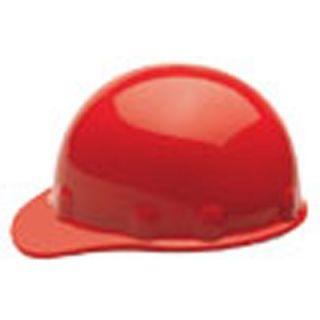 Fiber Metal E2RWRED Fibre Metal Cap Style Hard Hat Red