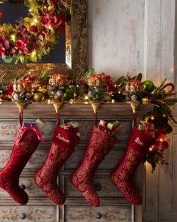 Joyeux Noel Christmas Floral Arrangement