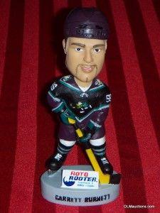 Burnett Anaheim Mighty Ducks NHL Hockey Bobblehead SGA Collectible