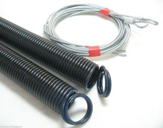Extension Springs for 8 High Garage Door Pair or Single